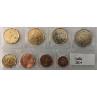 ITALY 2009 - EURO COIN SET - UNC