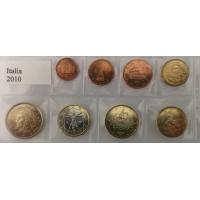 ITALY 2010 - EURO COIN SET - UNC