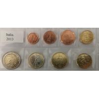 ITALY 2013 - EURO COIN SET - UNC