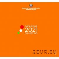 ITALY 2021 - EURO COIN SET (BU)