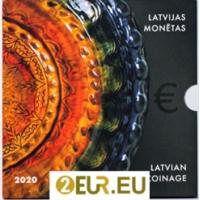 LATVIA  2020 - EURO COIN SET - LATGALE CERAMICS