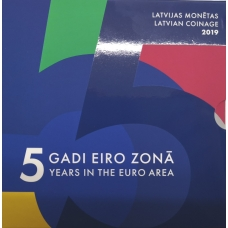 LATVIA 2019 - EURO COIN SET