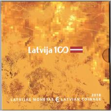 LATVIA 2018 - EURO COIN SET