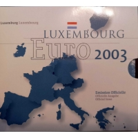 LUXEMBOURG 2003 - EURO COIN SET BU
