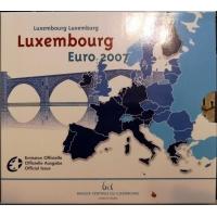 LUXEMBOURG 2007 - EURO COIN SET BU