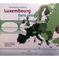 LUXEMBOURG 2009 - EURO COIN SET BU