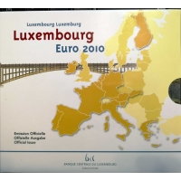 LUXEMBOURG 2010 - EURO COIN SET BU