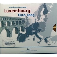 LUXEMBOURG 2005 - EURO COIN SET BU