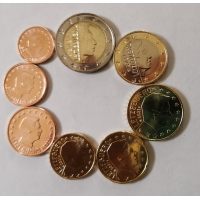 LUXEMBOURG 2021 - EURO SET (LOOS)