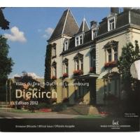 LUXEMBOURG 2012 - EURO COIN SET BU - City of Diekirch