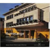 LUXEMBOURG 2021 - EURO COIN SET BU - Rumelange + 2 EURO -100th Anniversary of the Birth of Grand-Duke Jean