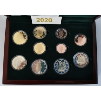 LUXEMBOURG EURO SET  - 2020  PROOF