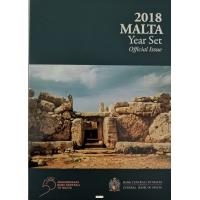MALTA 2018 - EURO COIN SET + MNAJDRA