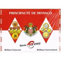 MONACO 2002 - EURO COIN SET