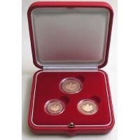 MONACO 2005 - 1.2.5 CENT EURO SET - PROOF