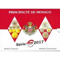 MONACO 2017 - EURO COIN SET