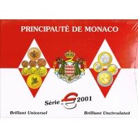 MONACO 2001 - EURO COIN SET