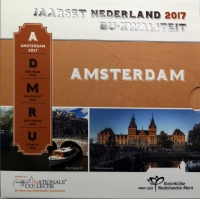 NETHERLANDS 2017 - EURO COIN SET BU