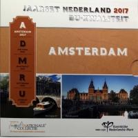 NETHERLANDS 2017 - EURO COIN SET BU