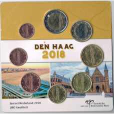 NETHERLANDS 2018 - EURO COIN SET