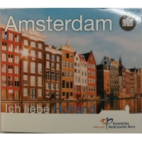 NETHERLANDS 2020 - EURO COIN SET BU - AMSTERDAM