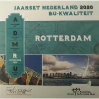 NETHERLANDS 2020 - EURO COIN SET BU - ROTTERDAM