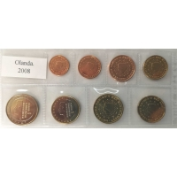 NETHERLANDS 2008 - EURO LOS SET