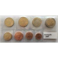 PORTUGAL 2009 - EURO COIN SET