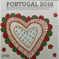 PORTUGAL 2016 - EURO COIN SET (BU)