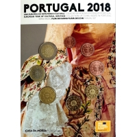PORTUGAL 2018 - EURO COIN SET (FDC)