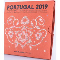 PORTUGAL 2019 - EURO COIN SET (BNC)