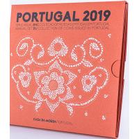 PORTUGAL 2019 - EURO COIN SET (BNC)