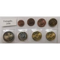 PORTUGAL 2008 - EURO COIN SET