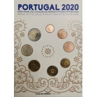 PORTUGAL 2020 - EURO COIN SET (FDC)
