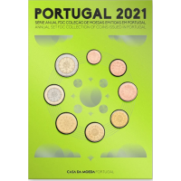 PORTUGAL 2021 - EURO COIN SET (FDC)
