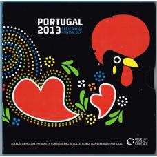PORTUGAL 2013 - EURO COIN SET (BU)