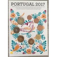 PORTUGAL 2017 - EURO COIN SET (FDC)