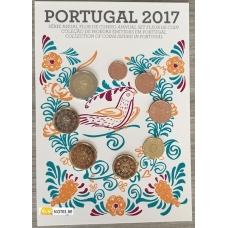PORTUGAL 2017 - EURO COIN SET