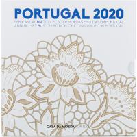 PORTUGAL 2020 - EURO COIN SET (BU)