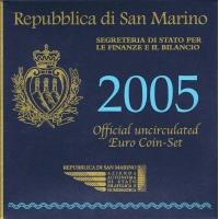 SAN MARINO 2005 - EURO COIN SET + SILVER COIN