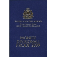 SAN MARINO 2009 - EURO COIN SET - PROOF