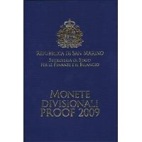 SAN MARINO 2009 - EURO COIN SET - PROOF