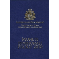 SAN MARINO 2010 - EURO COIN SET - PROOF