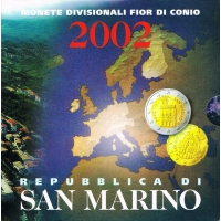SAN MARINO 2002 - EURO COIN SET