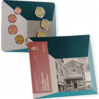 SAN MARINO 2021 - EURO COIN SET (BU)