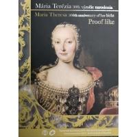 SLOVAKIA 2017 - 300TH ANNIVERSARY OF BIRTH MARIA THERESA  - EURO COIN SET - PROOF