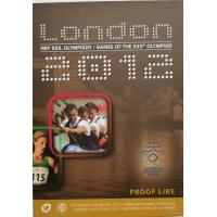 SLOVAKIA 2012 - XXX. Olympic Games London - EURO COIN SET - PROOF