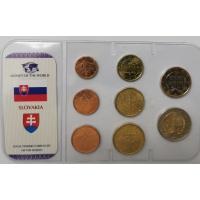 SLOVAKIA 2009 - EURO COIN SET