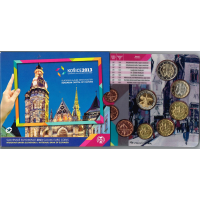 SLOVAKIA 2013 - EURO COIN SET