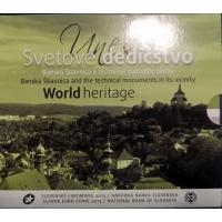 SLOVAKIA 2013 - EURO COIN SET - UNESCO  WORLD HERITAGE